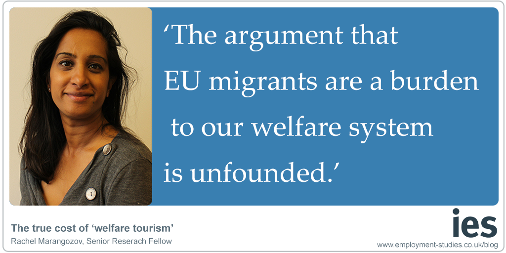 """Rachel Marangozov: """"The Argument that EU migrations are a burden to our welfare system is unfounded."""""""