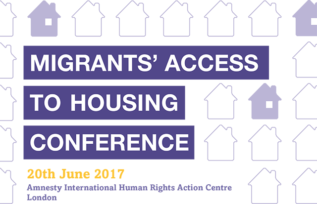Migrant's Access to Housing Conference 2017