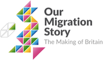 Our Migration Story logo