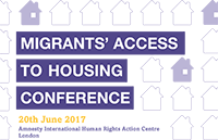Migrants' Access to Housing Conference 2017
